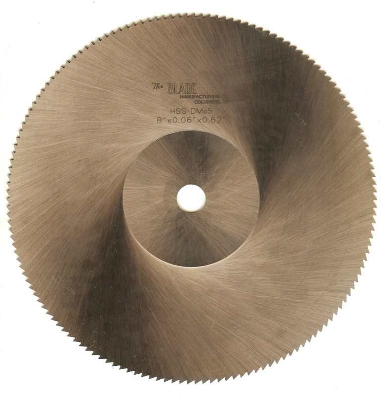 High speed steel saw blades the blade mfg co high speed steel saw blades m 2 dmo5 keyboard keysfo Choice Image