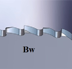 Bw HSS Tooth
